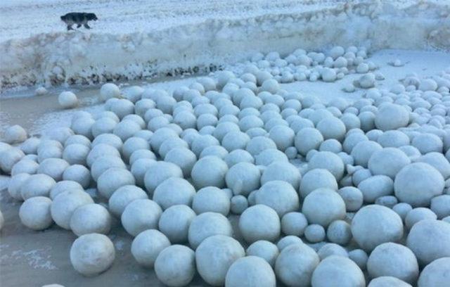 Boules de glace Russie : 3