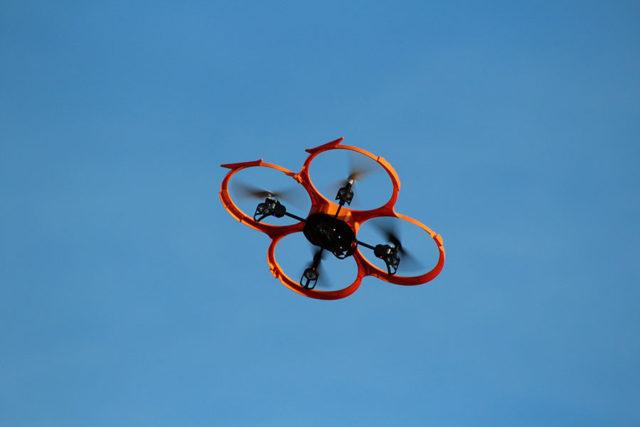 Chasse aux drones