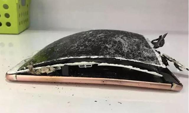Explosion iPhone 7 Plus : image 1