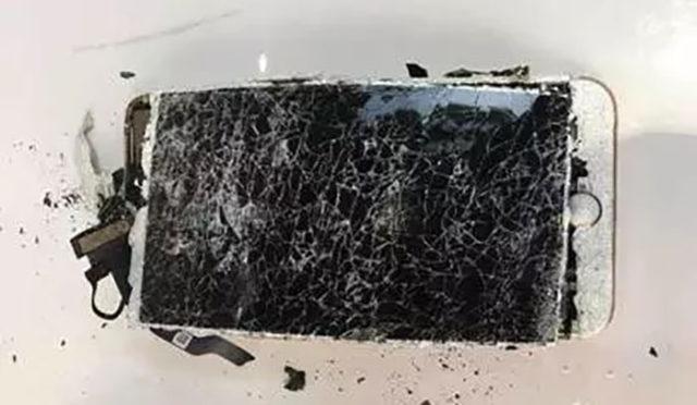 Explosion iPhone 7 Plus : image 2