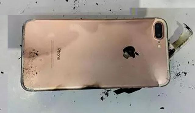 Explosion iPhone 7 Plus : image 3