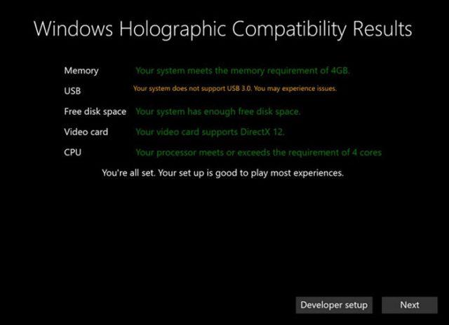 Windows Holographic : capture 2