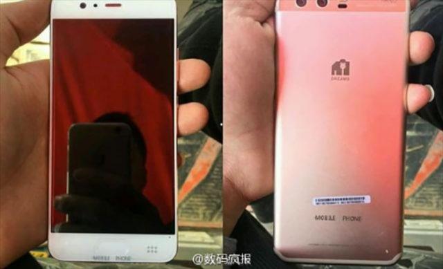 Fuite Huawei P10