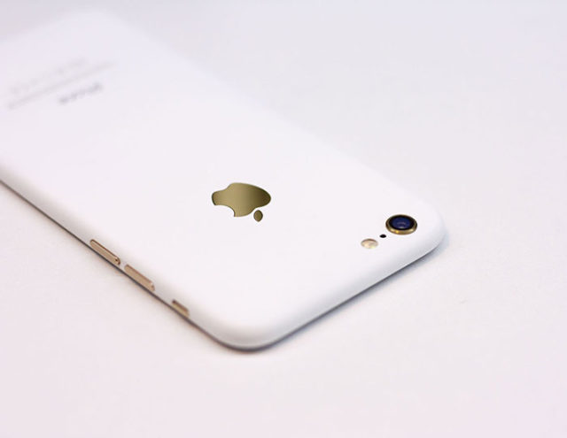 iPhone 7 blanc : image 1