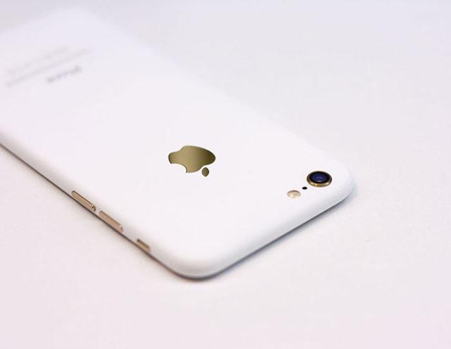 iPhone 7 blanc : image 1