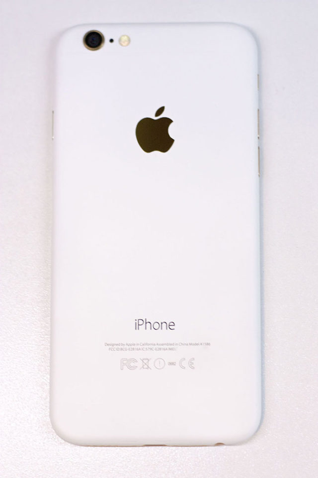 iPhone 7 blanc : image 3