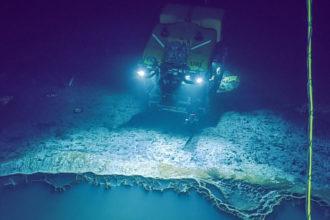 Lac Saumure Golfe du Mexique