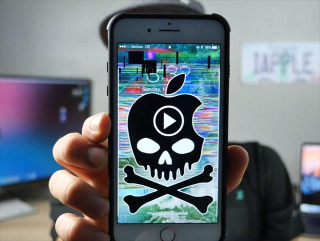 Une nouvelle vidéo fait planter tous les iPhone