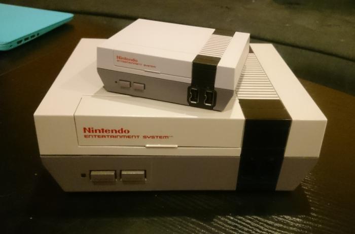 NES et NES Mini