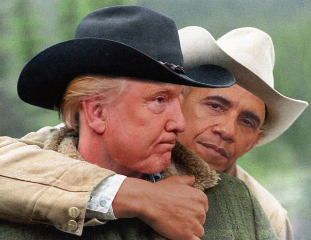 Photoshop Battle Obama / Trump