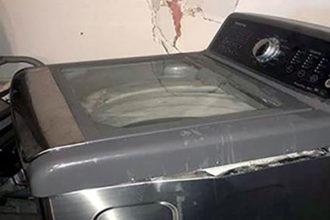 Rappel machine à laver Samsung