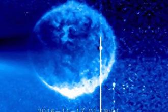 Sphère Bleue Soleil