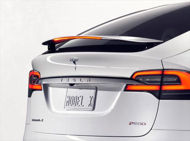 Easter Egg Tesla Model X