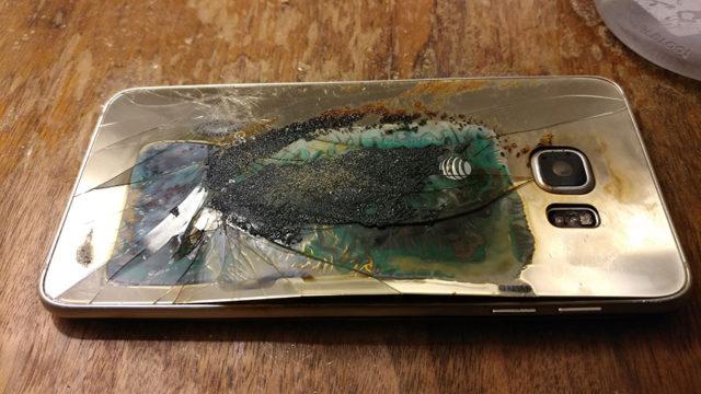 Explosion Galaxy S6 Edge : image 3