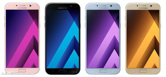 Fuite Galaxy A5 2017