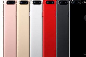 iPhone 7s rouge
