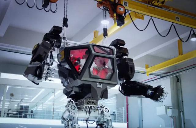 Un robot géant enflamme la toile — Corée du Sud