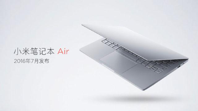 Xiaomi Mi Notebook Air 4G : image 1