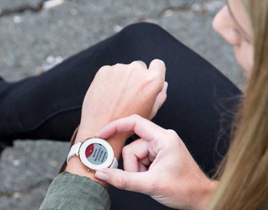 Pebble Fitbit