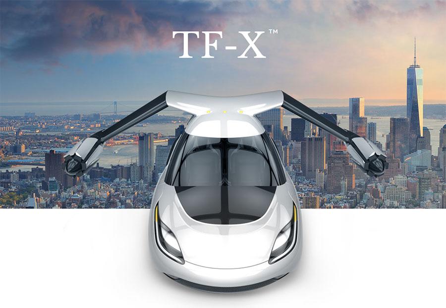 Terrafugia : une voiture volante pour 2018