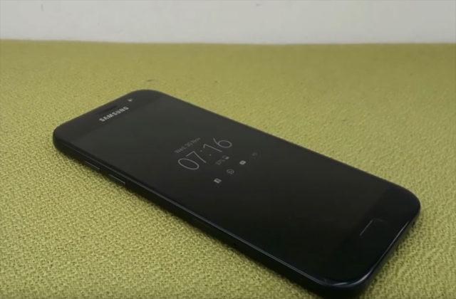 Vidéo Galaxy A5 2017