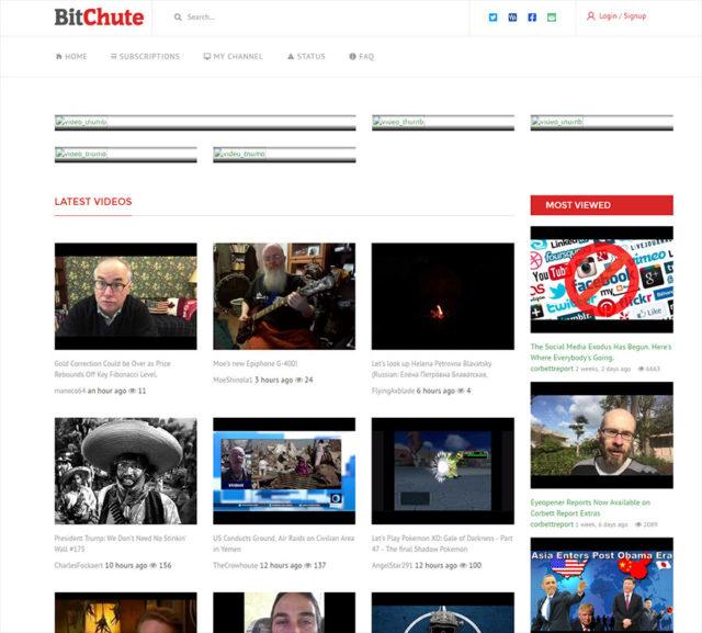 Capture BitChute