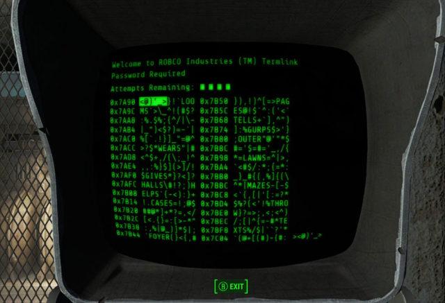 Hacking Fallout 4
