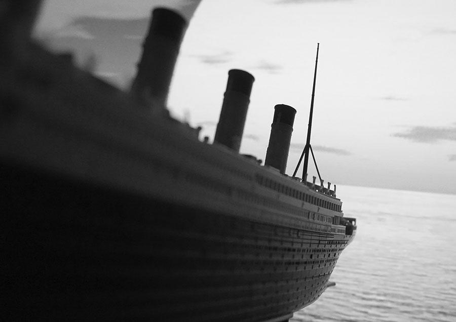 Titanic : l'iceberg ne serait pas le seul responsable de son naufrage