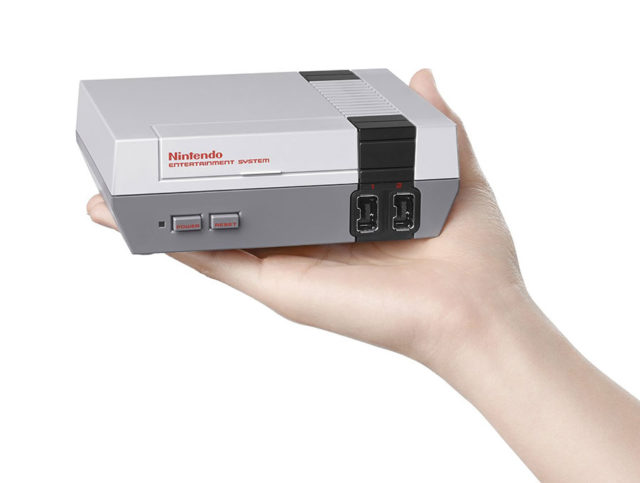 Message secret NES Mini