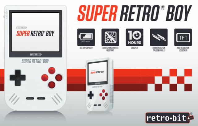 Super Retro Boy, le clone Game Boy idéal ?
