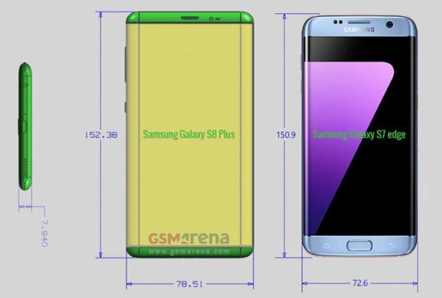 Schémas Galaxy S8 : image 1