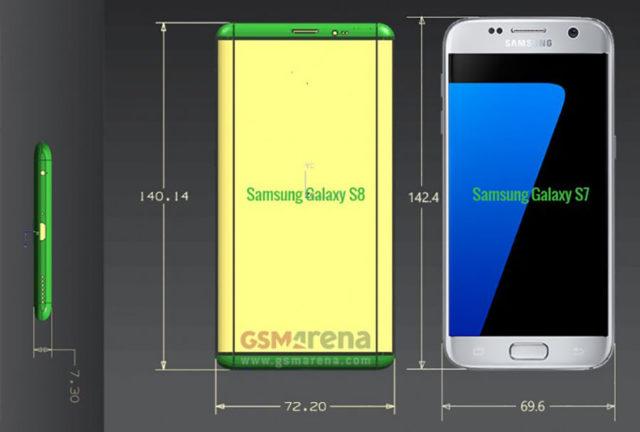 Schémas Galaxy S8 : image 2