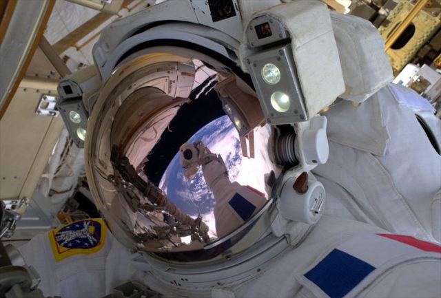 Selfie de l'espace
