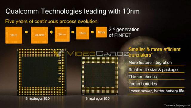 Fuite Snapdragon 835 : slide 2
