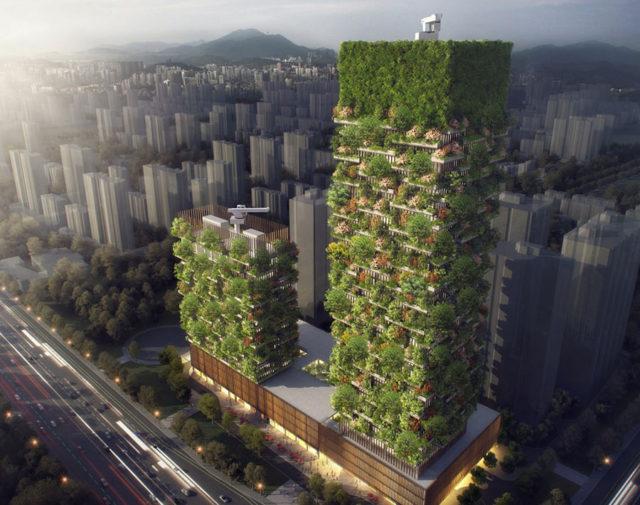 Forêt verticale Nankin