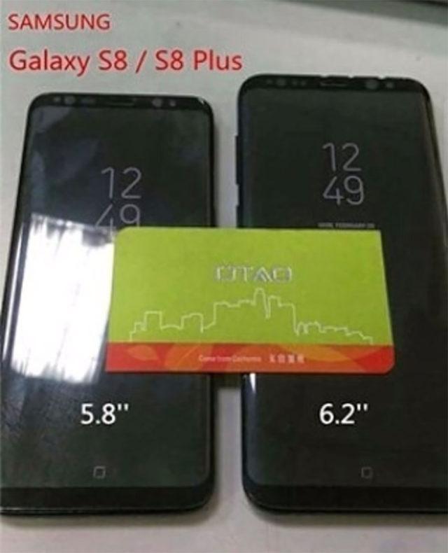 Fuite Galaxy S8 2