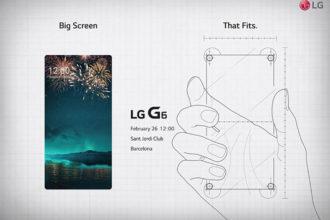 Invitation LG G6