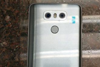 LG G6 Fuite