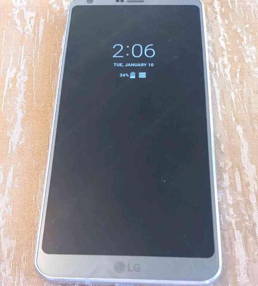 LG G6 Fuite 1