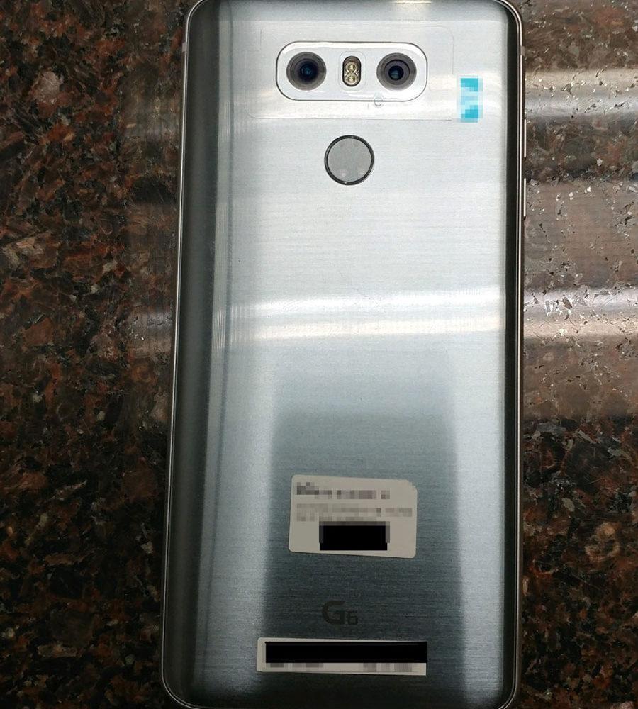 LG G6 Fuite 2