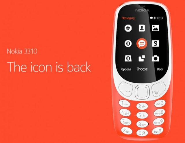 Nokia 3310 : image 1