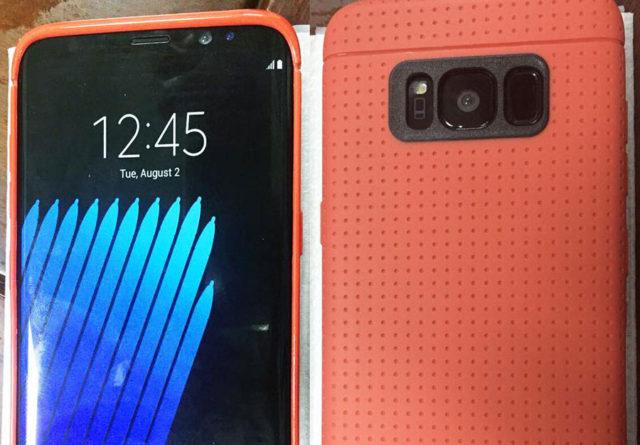 Photo Galaxy S8