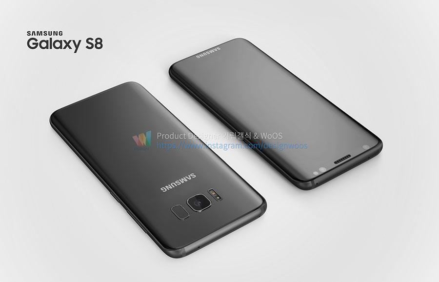 Rendu Galaxy S8 : image 11
