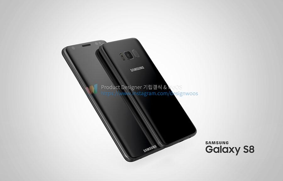 Rendu Galaxy S8 : image 12