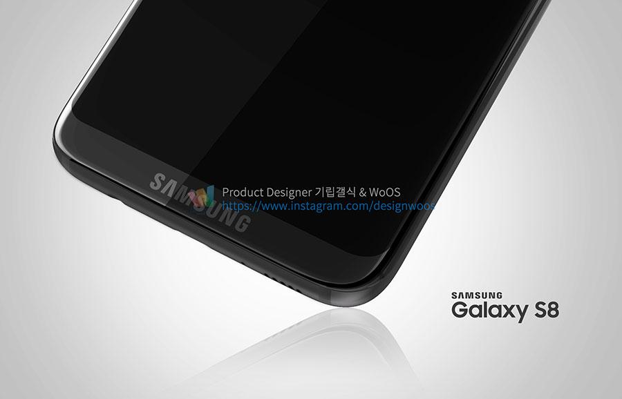 Rendu Galaxy S8 : image 2