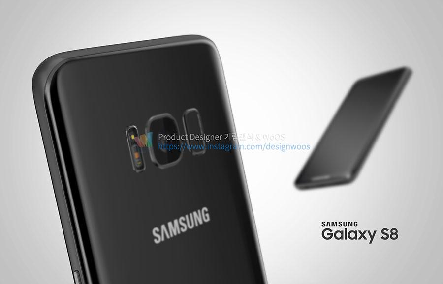 Rendu Galaxy S8 : image 9