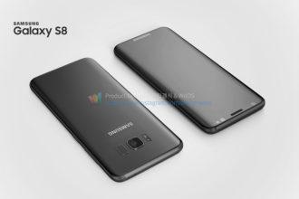 Rendu Galaxy S8