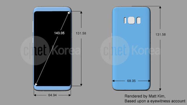 Schéma Galaxy S8 : image 2