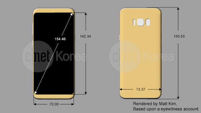 Schéma Galaxy S8 : image 4