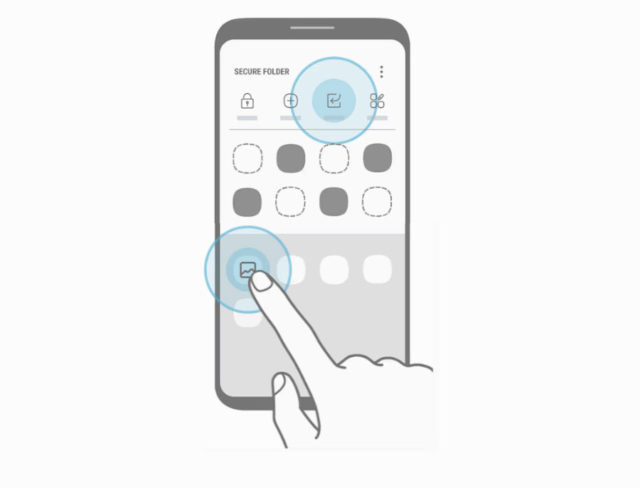 Fuites Galaxy S8 Secure Folder